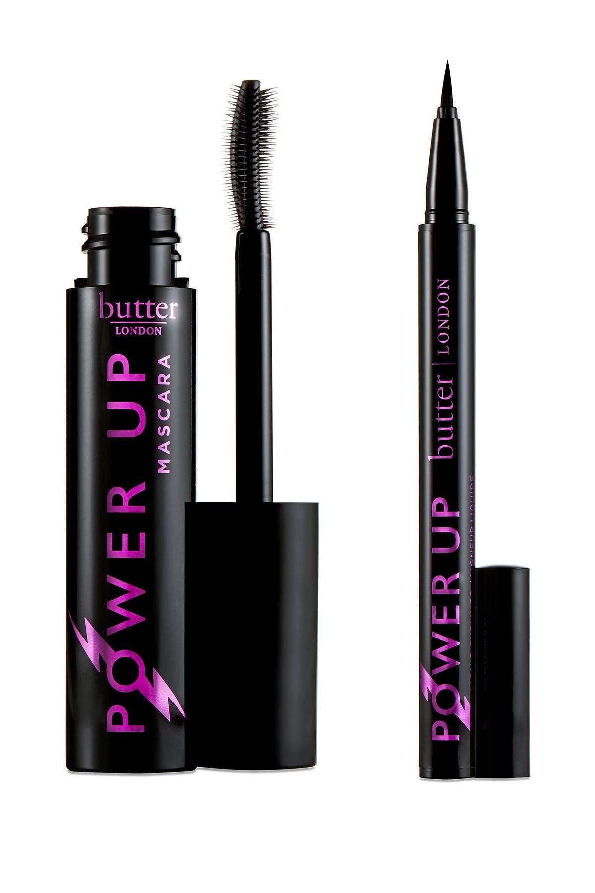 Image of butter LONDON Power Up Mascara and Eyeliner Gift Set