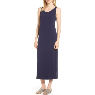 Eileen Fisher Midi Tank Dress, Blue