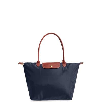 Longchamp Large Le Pliage Tote - Blue