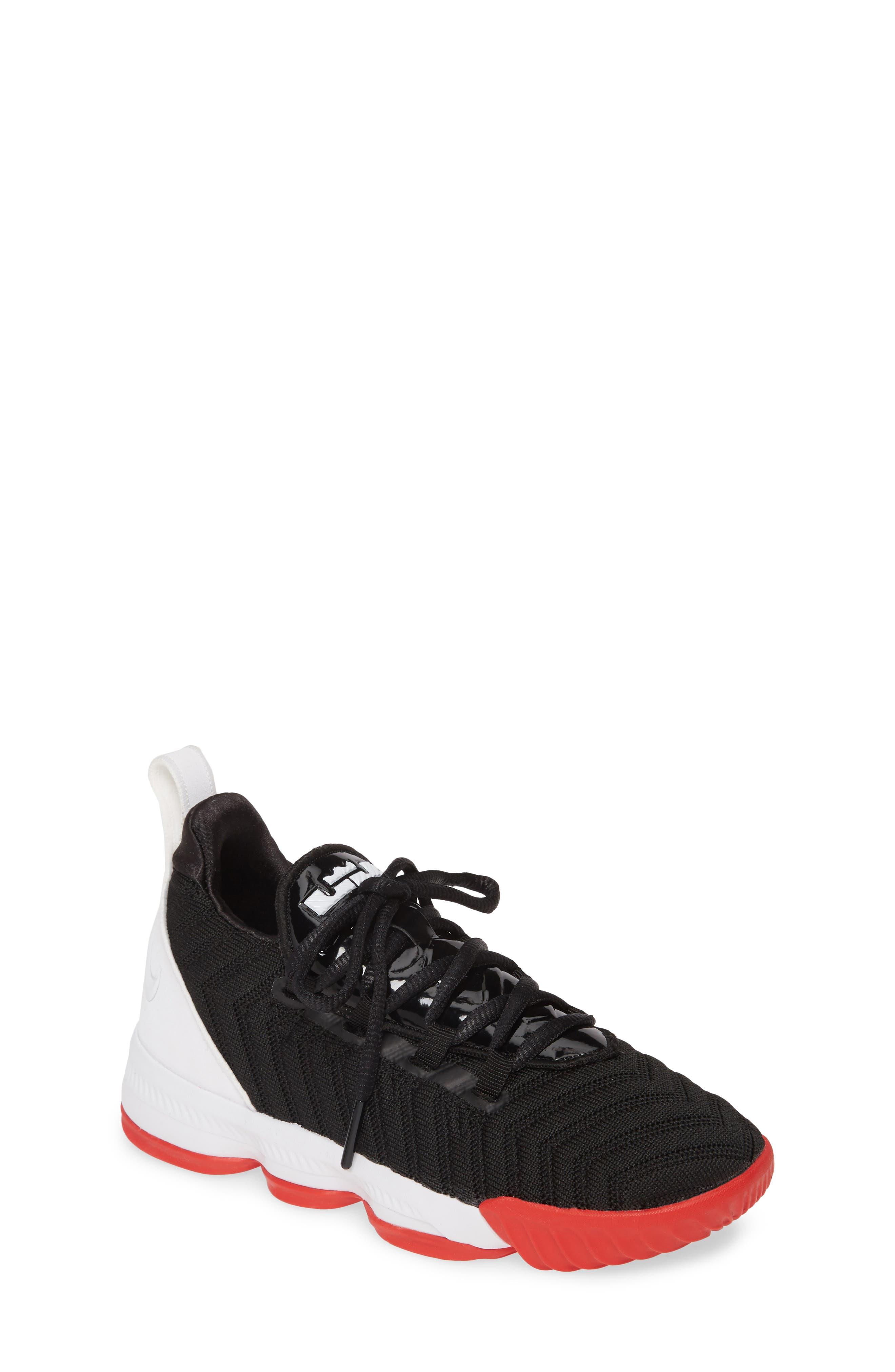 Toddler Nike Lebron Xvi Basketball Shoe Size 25 M  Black