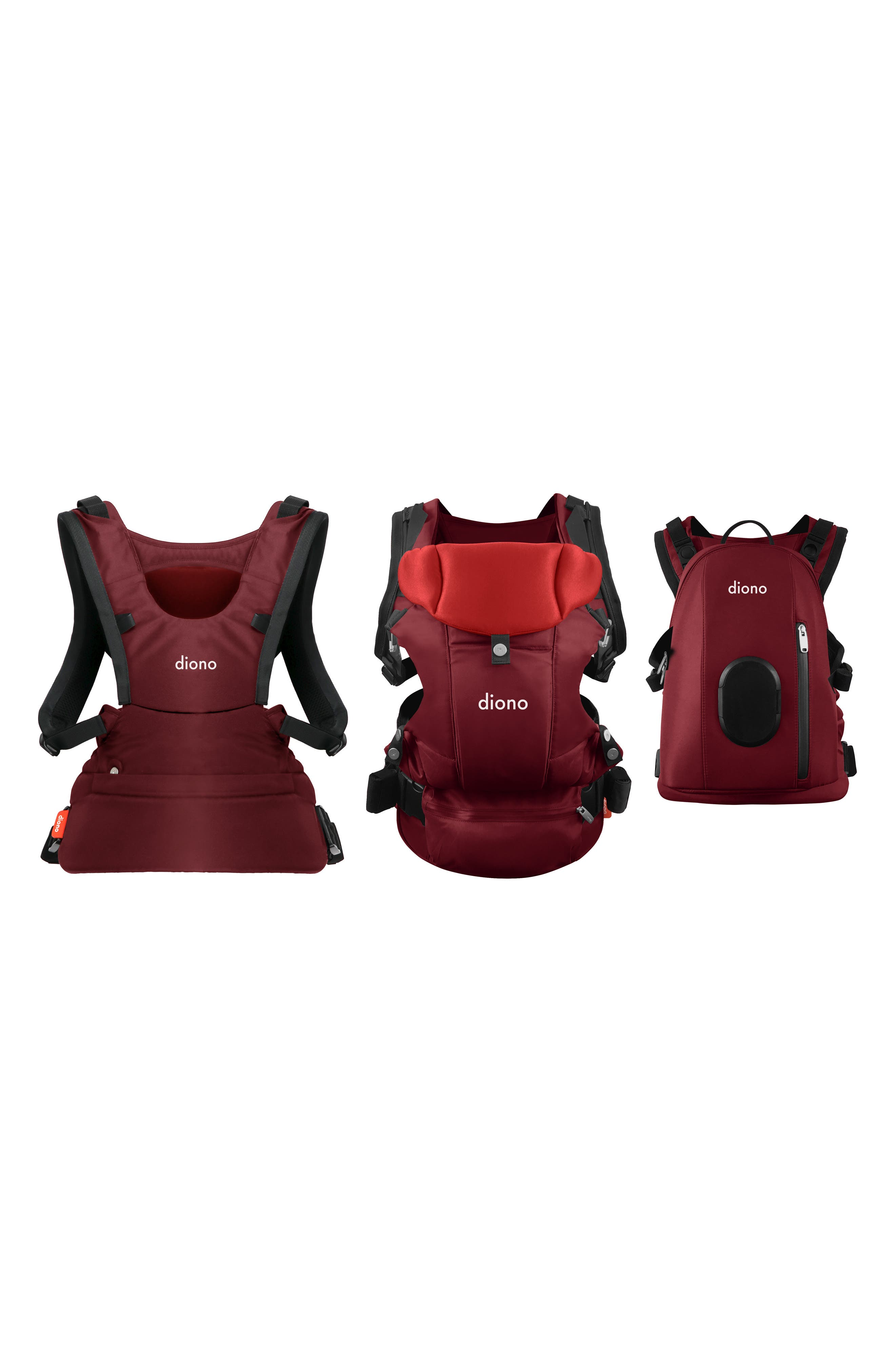 Infant Diono Carus Complete 4In1 Carrying System Size One Size  Red