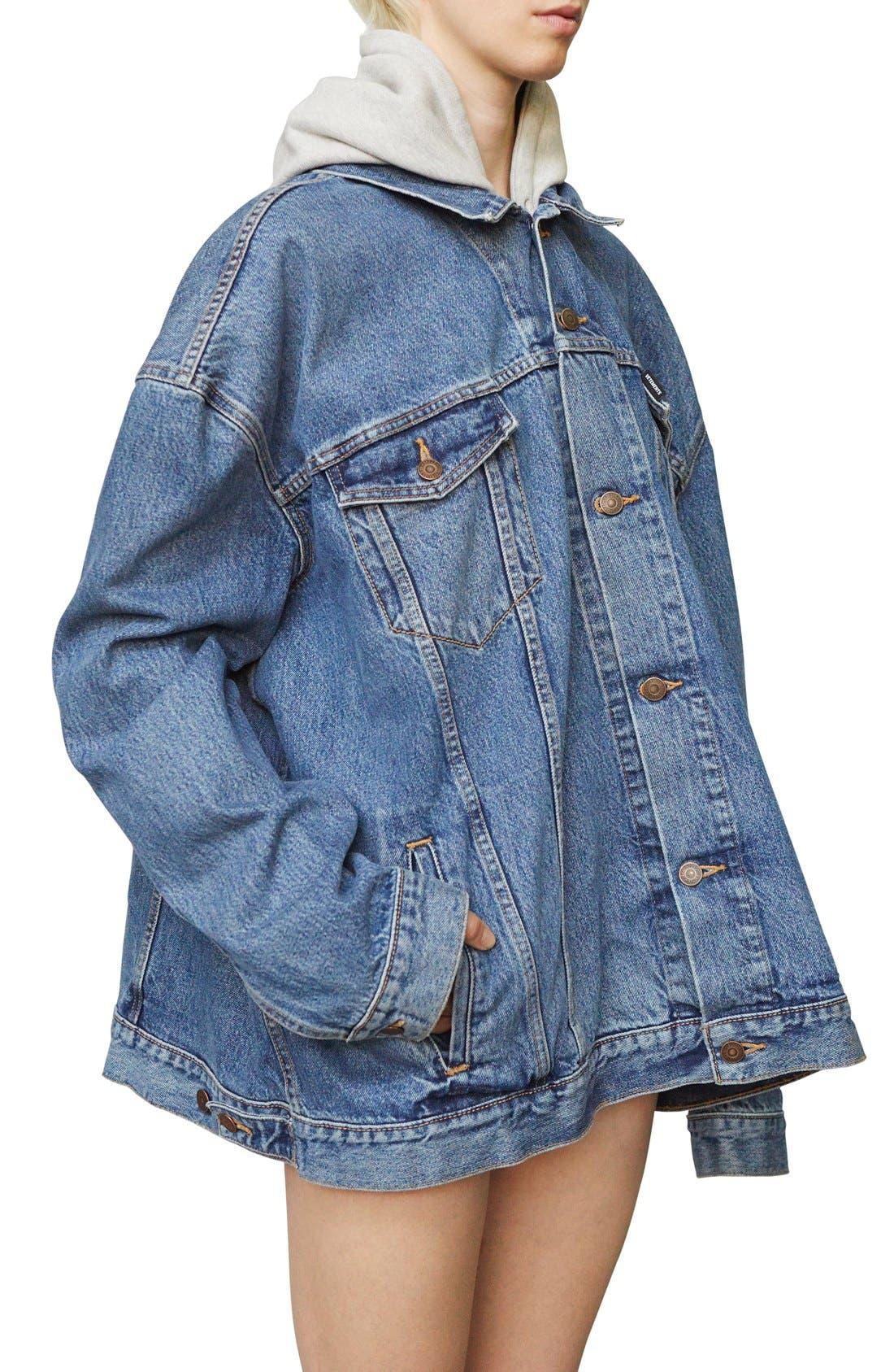 ,                             x Levi's<sup>®</sup> Denim Jacket,                             Alternate thumbnail 10, color,                             400