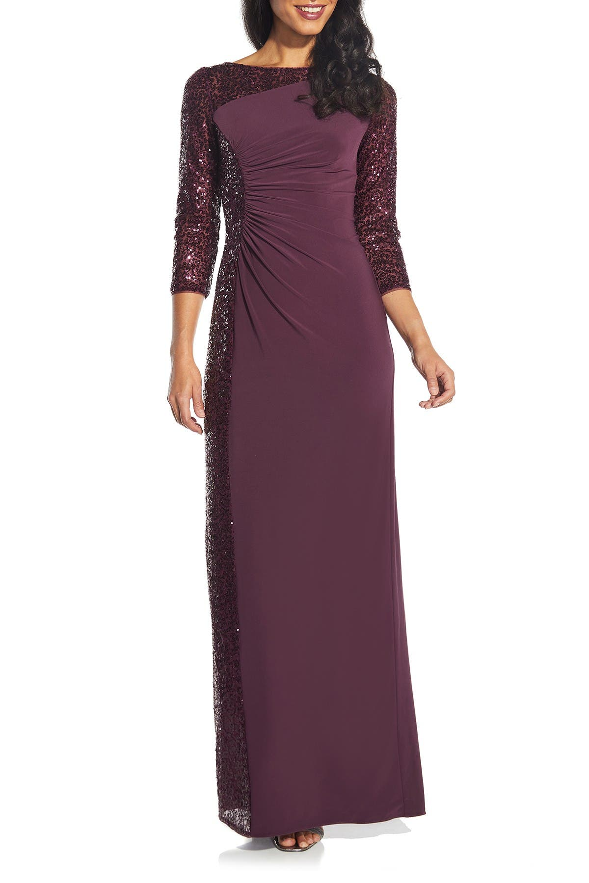 Image of Adrianna Papell Sequin Dress