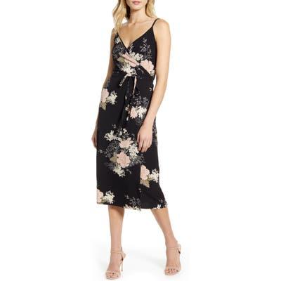 Bishop + Young Florentina Sleeveless Wrap Dress, Black
