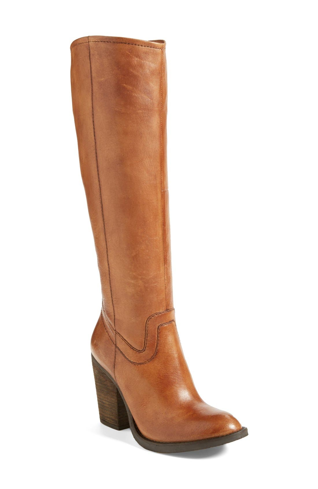 ,                             'Carrter' Knee High Leather Boot,                             Main thumbnail 7, color,                             203
