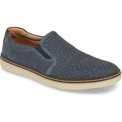 Johnston & Murphy Mcguffy Slip-On- Blue