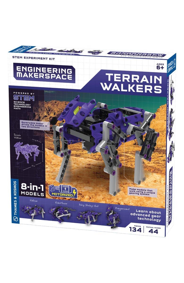 THAMES & KOSMOS Terrain Walkers Kit, Main, color, PURPLE