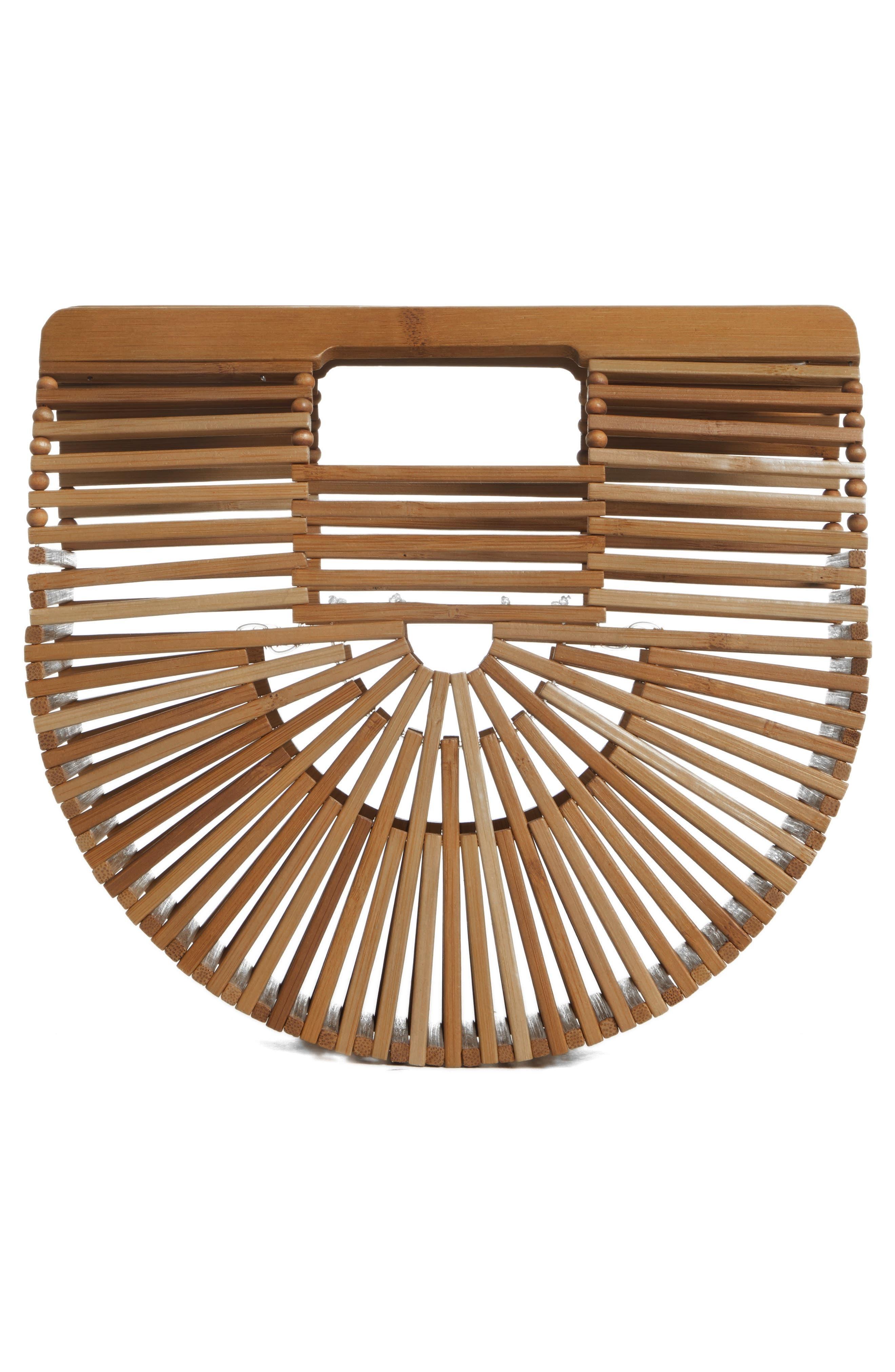 ,                             Mini Ark Handbag,                             Alternate thumbnail 3, color,                             CHESTNUT