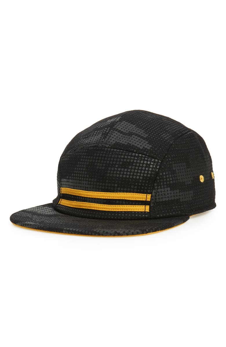 GOORIN BROS. 144 MPH Baseball Cap, Main, color, BLACK