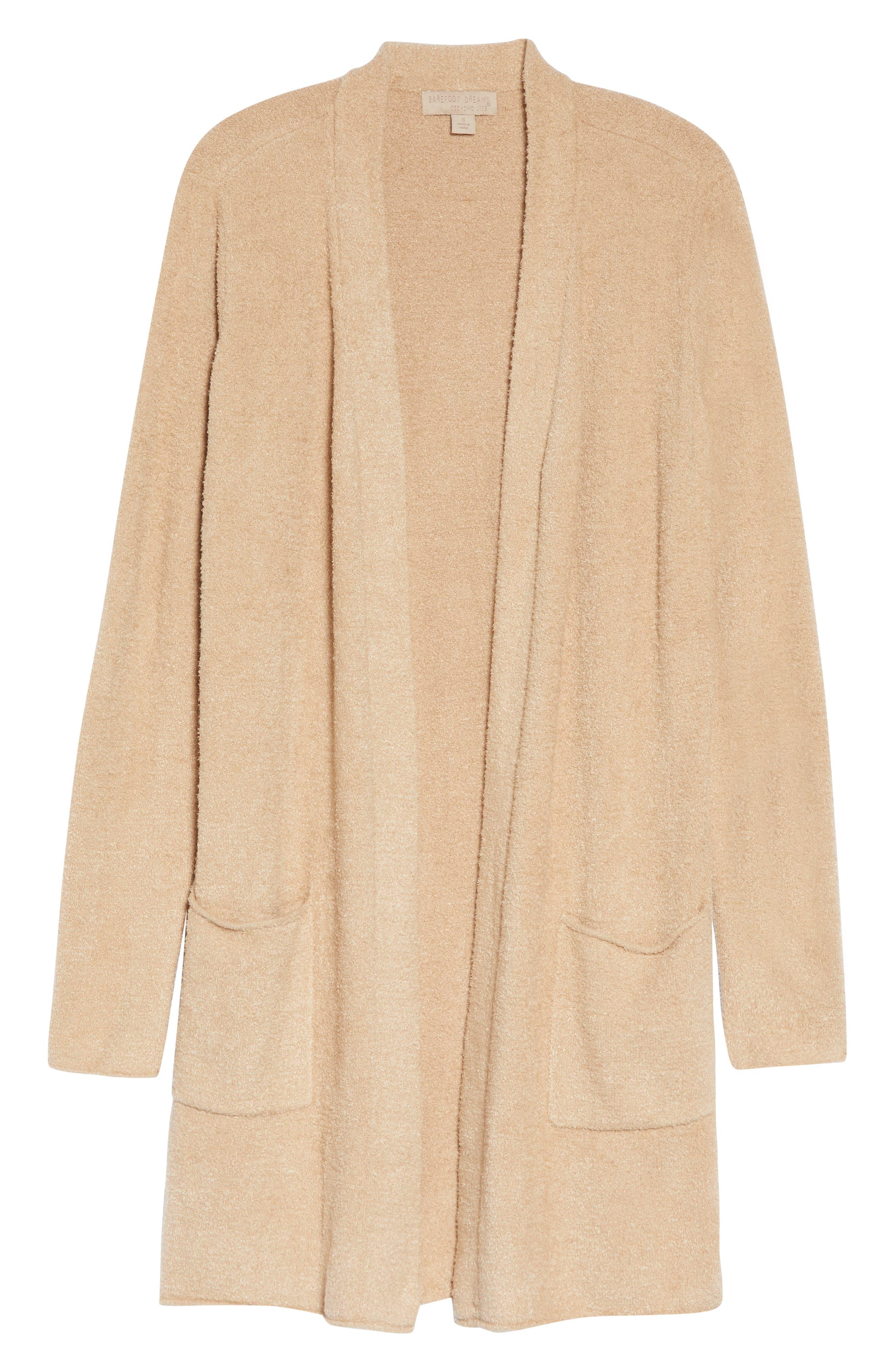 Women's Barefoot Dreams Cozychic Lite Long Cardigan