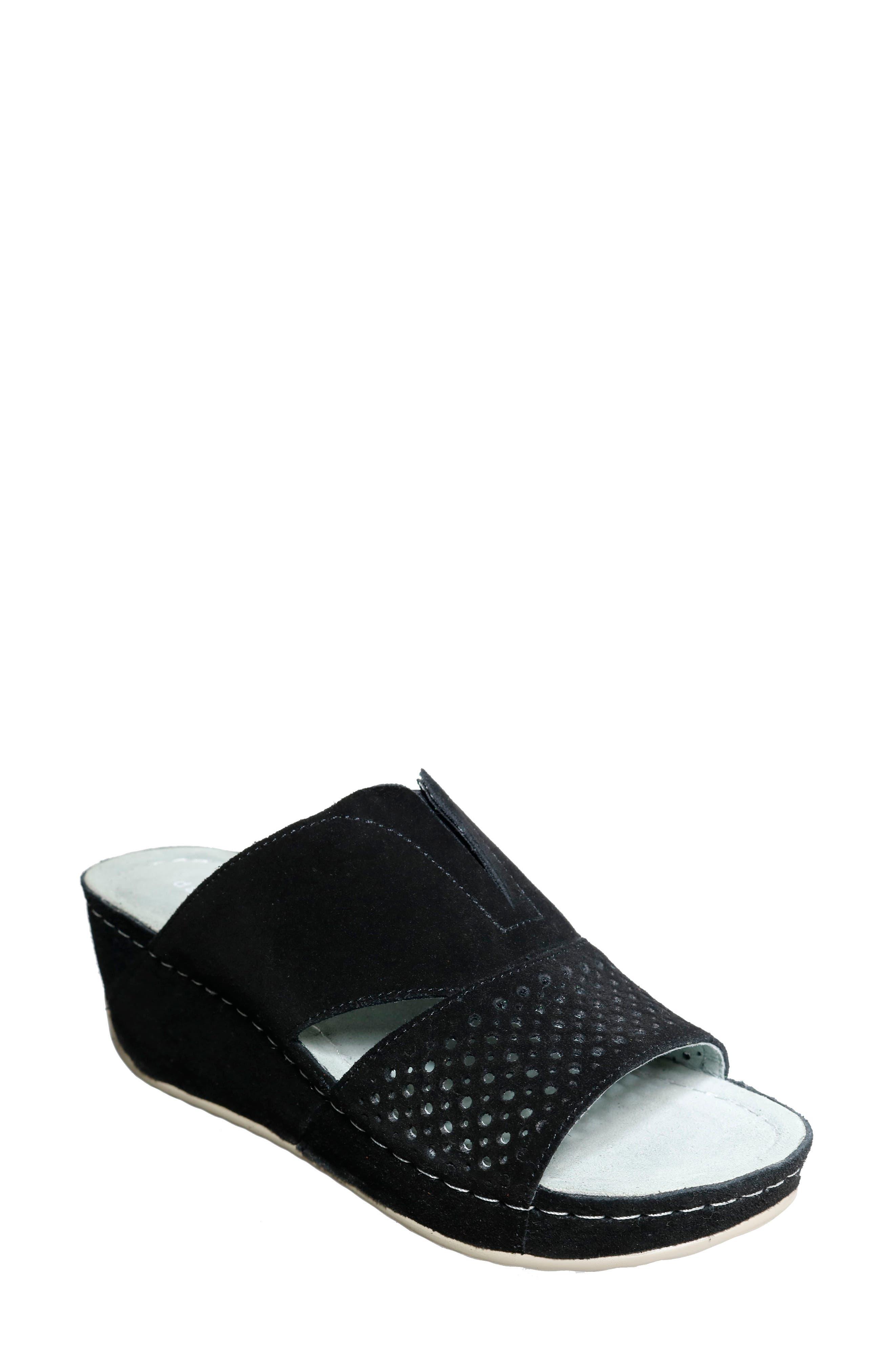 Twinkle Wedge Slide Sandal