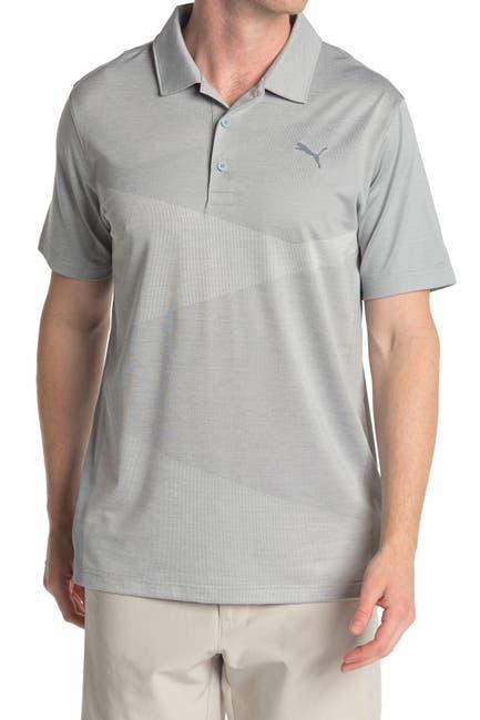 Image of PUMA GOLF Alterknit Jacquard Polo Shirt