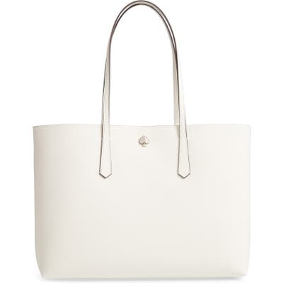 Kate Spade New York Large Molly Leather Tote - White