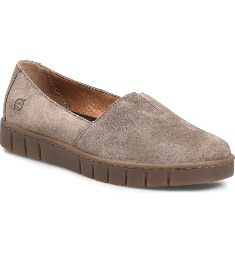 BØRN Congo Loafer, Main, color, TAUPE SUEDE