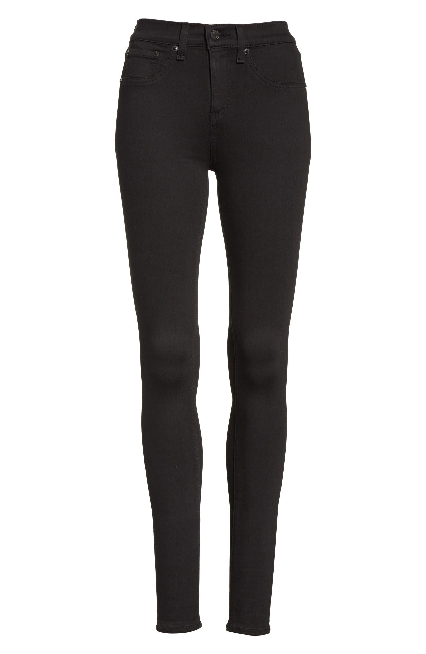 4fb582dae9f62 rag & bone High Waist Leggings (Black) | Nordstrom