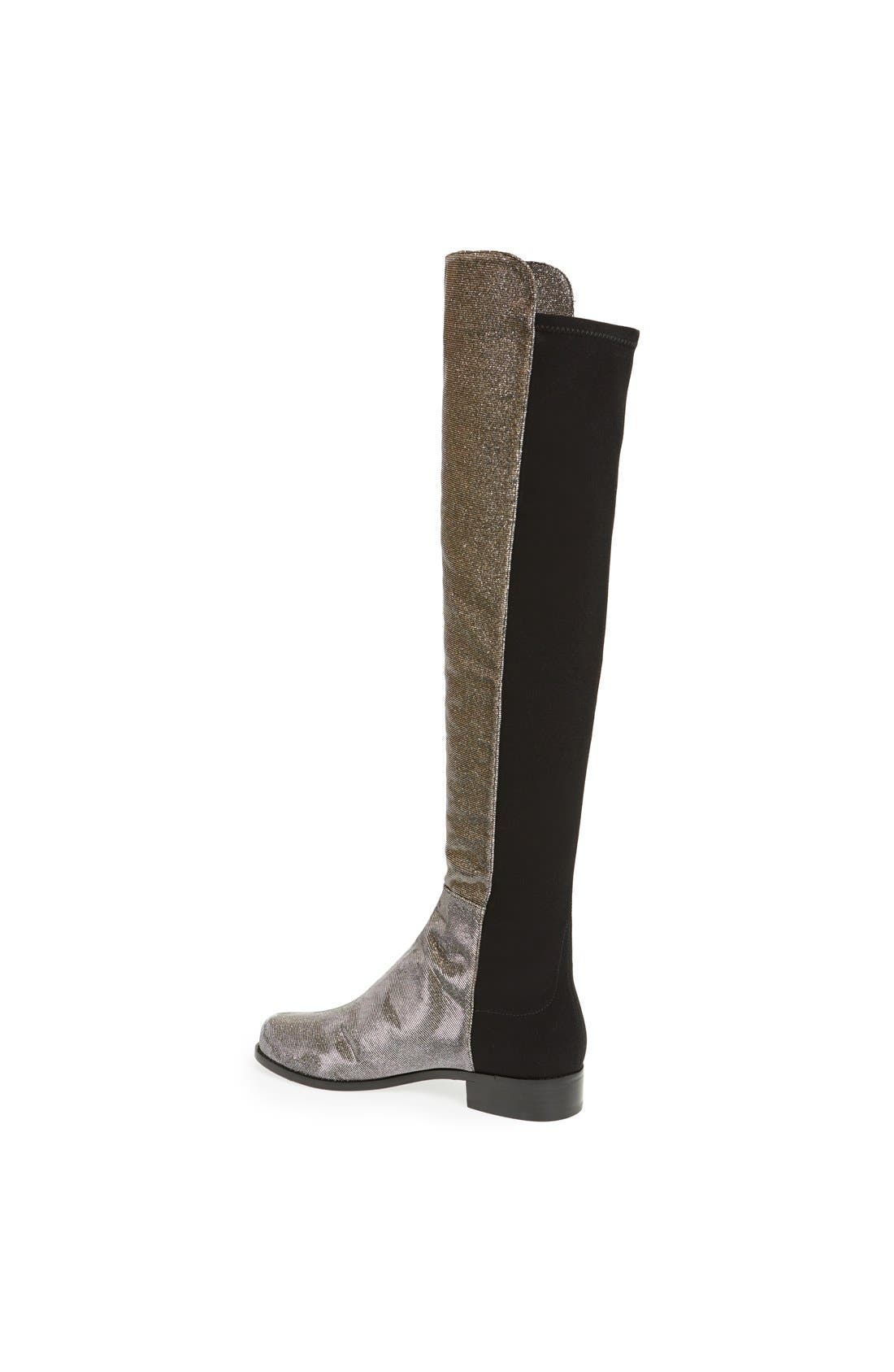 ,                             5050 Over the Knee Leather Boot,                             Alternate thumbnail 22, color,                             040