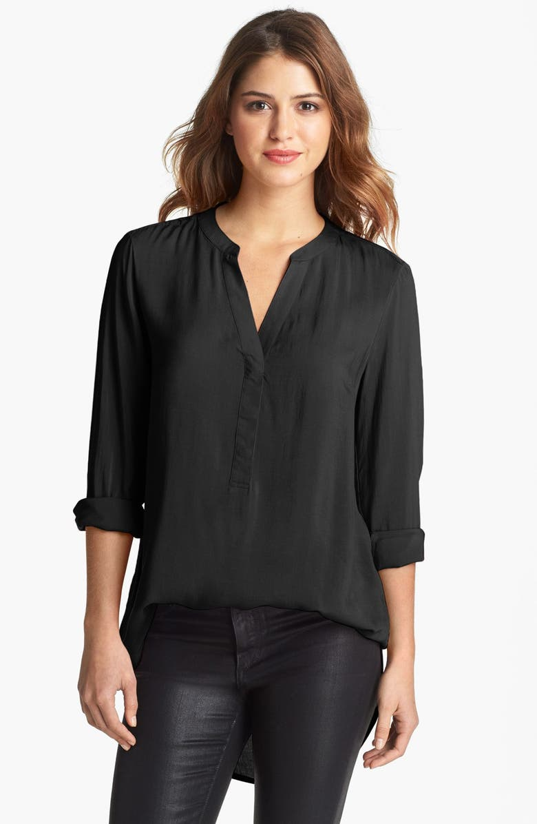 SANDRA Ingrish Split Neck Tunic, Main, color, 001