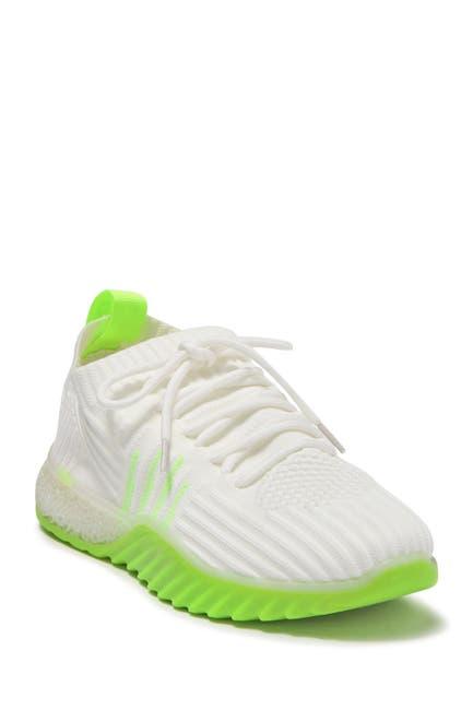 Image of DANSKIN Positive Neon Sock Knit Sneaker