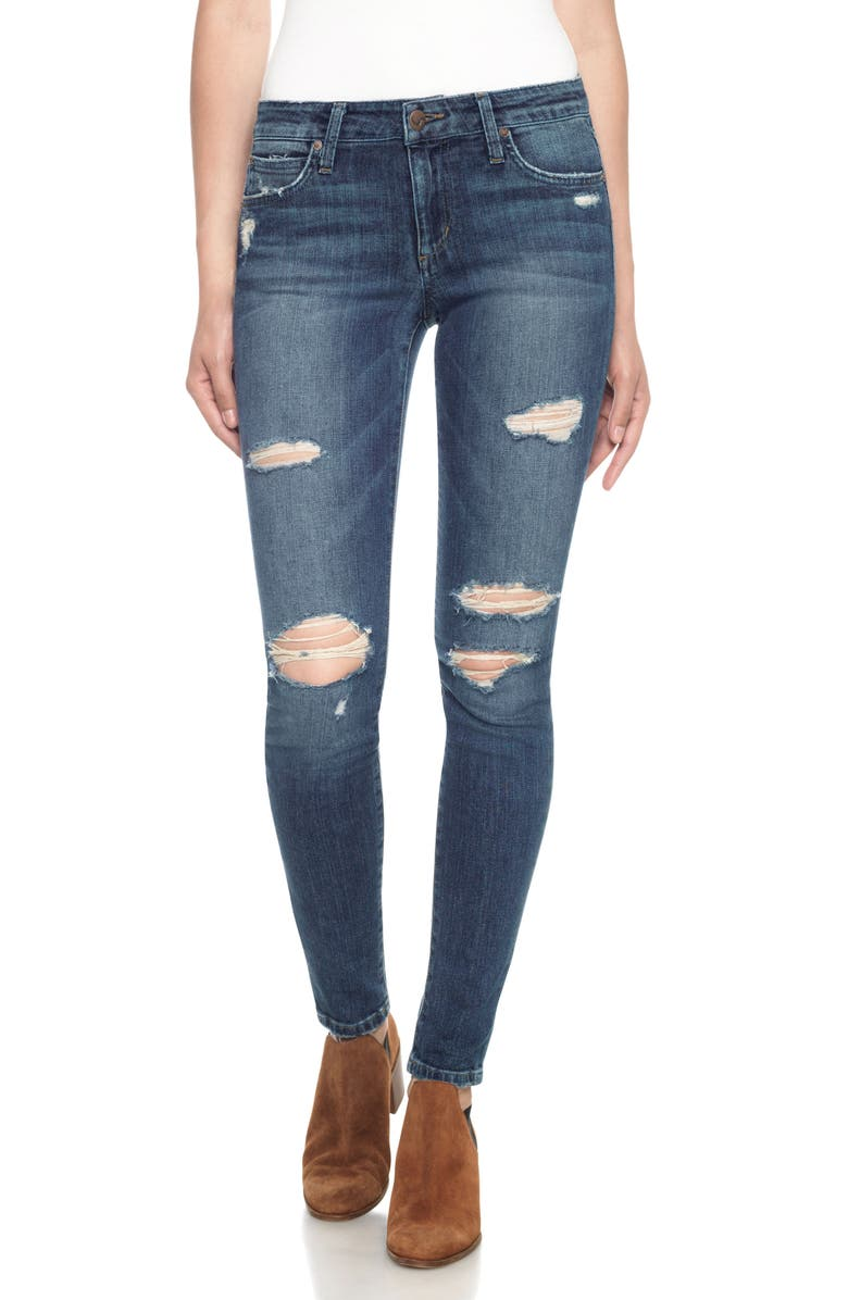 JOE'S 'The Icon' Skinny Jeans, Main, color, 410