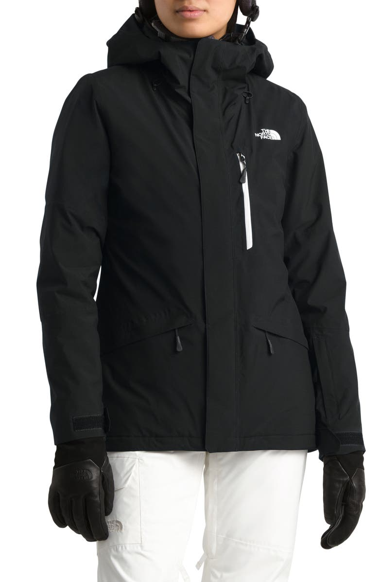 THE NORTH FACE ThermoBall<sup>™</sup> TriClimate<sup>®</sup> 3-in-1 Waterproof Snow Jacket, Main, color, TNF BLACK