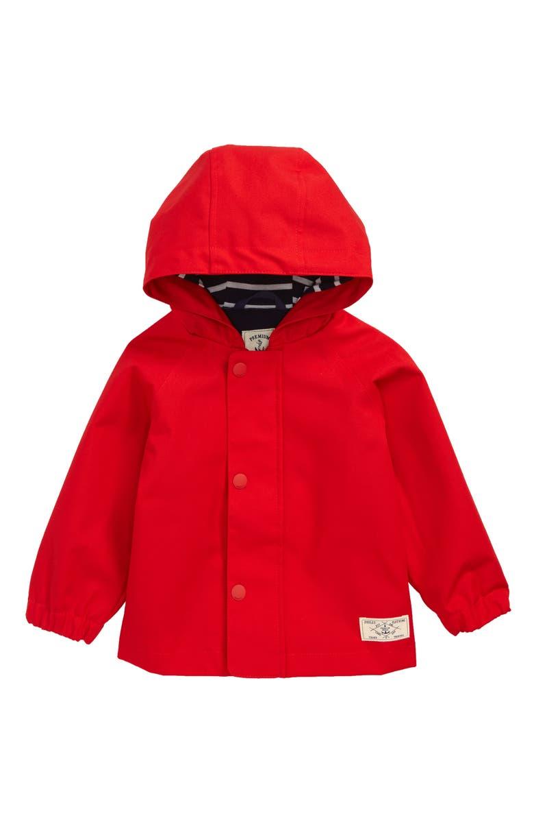 JOULES Coast Waterproof Hooded Raincoat, Main, color, 600