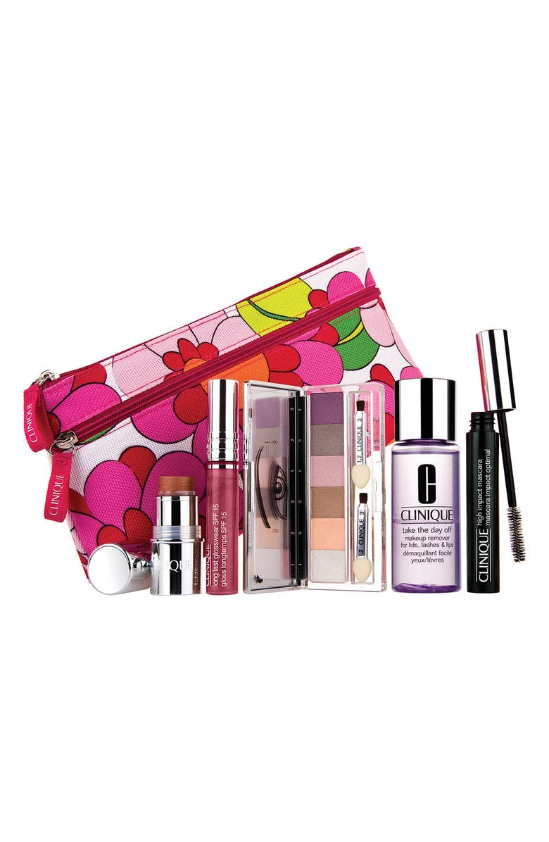 CLINIQUE Color 'Color Surge In Bloom' Mother's Day Set, Main, color, 000