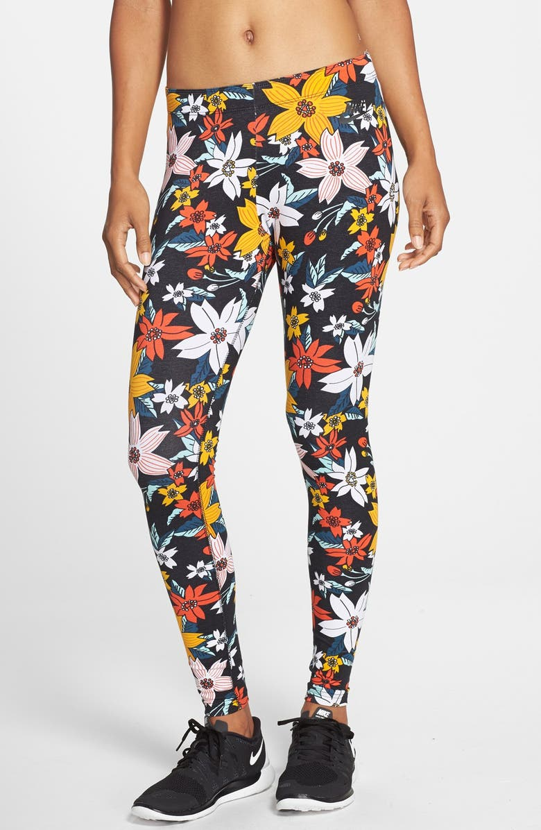 nike leggings tropical