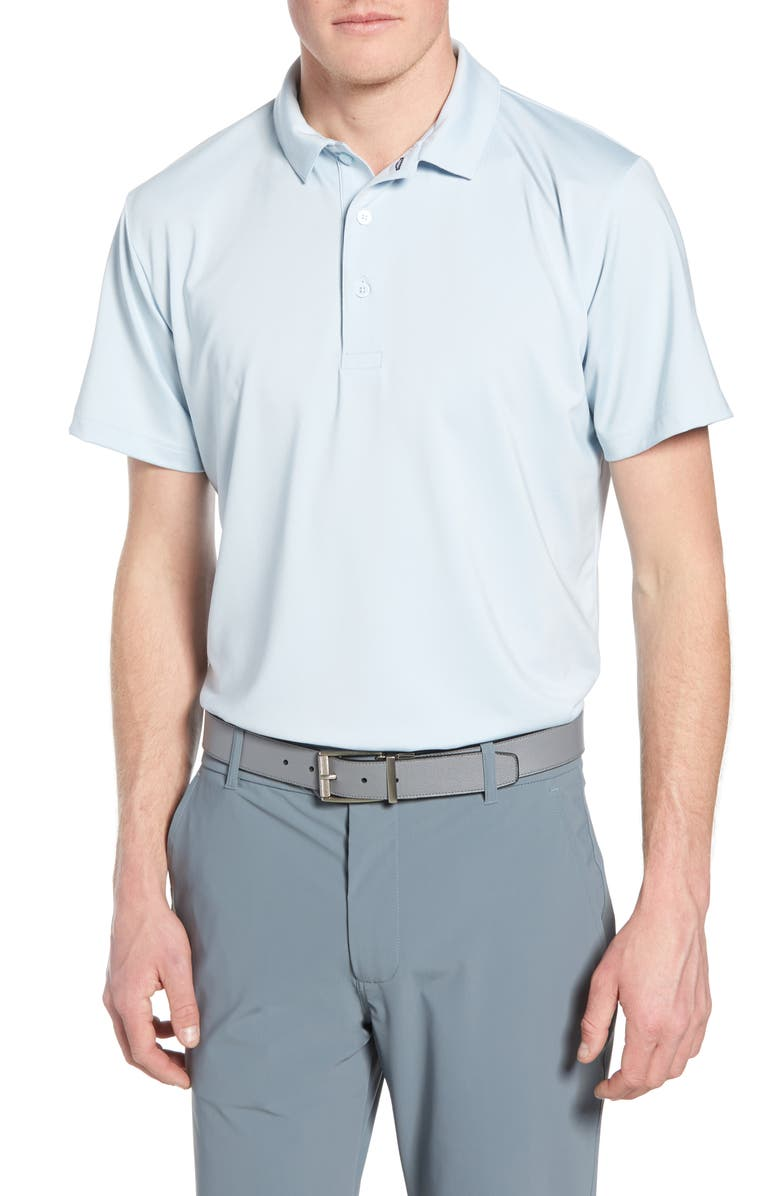 MIZZEN+MAIN Phil Mickelson Performance Golf Polo, Main, color, SKYWAY
