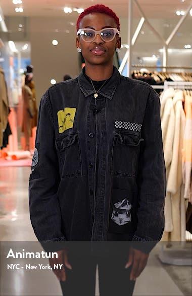 Brushstroke Print Midi Dress, sales video thumbnail
