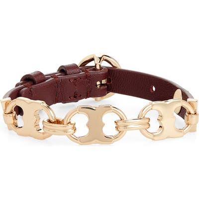 Tory Burch Gemini Link Single Wrap Bracelet
