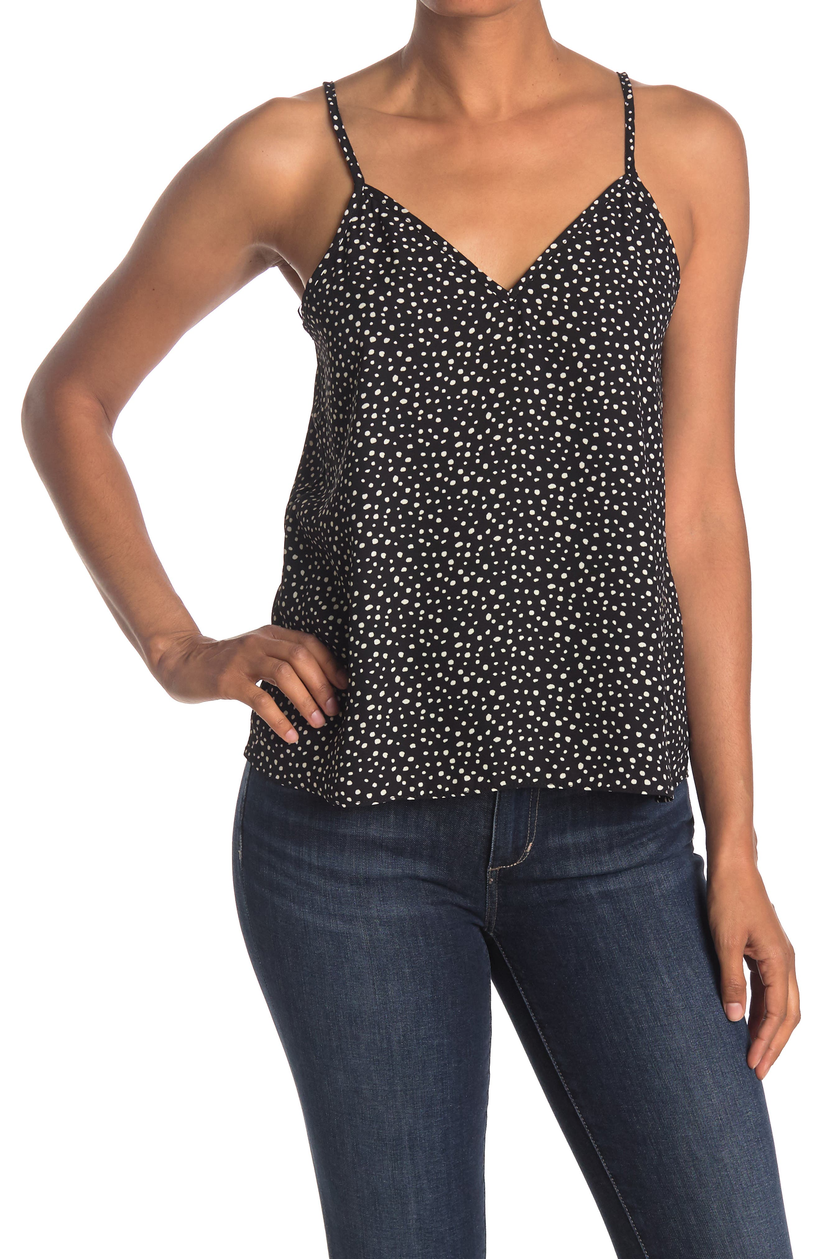 Image of Abound Printed V-Neck Camisole