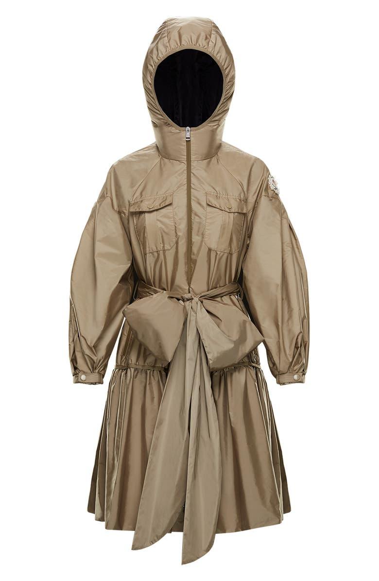 MONCLER GENIUS x 4 Simone Rocha Tie Waist Trench Coat, Main, color, 250