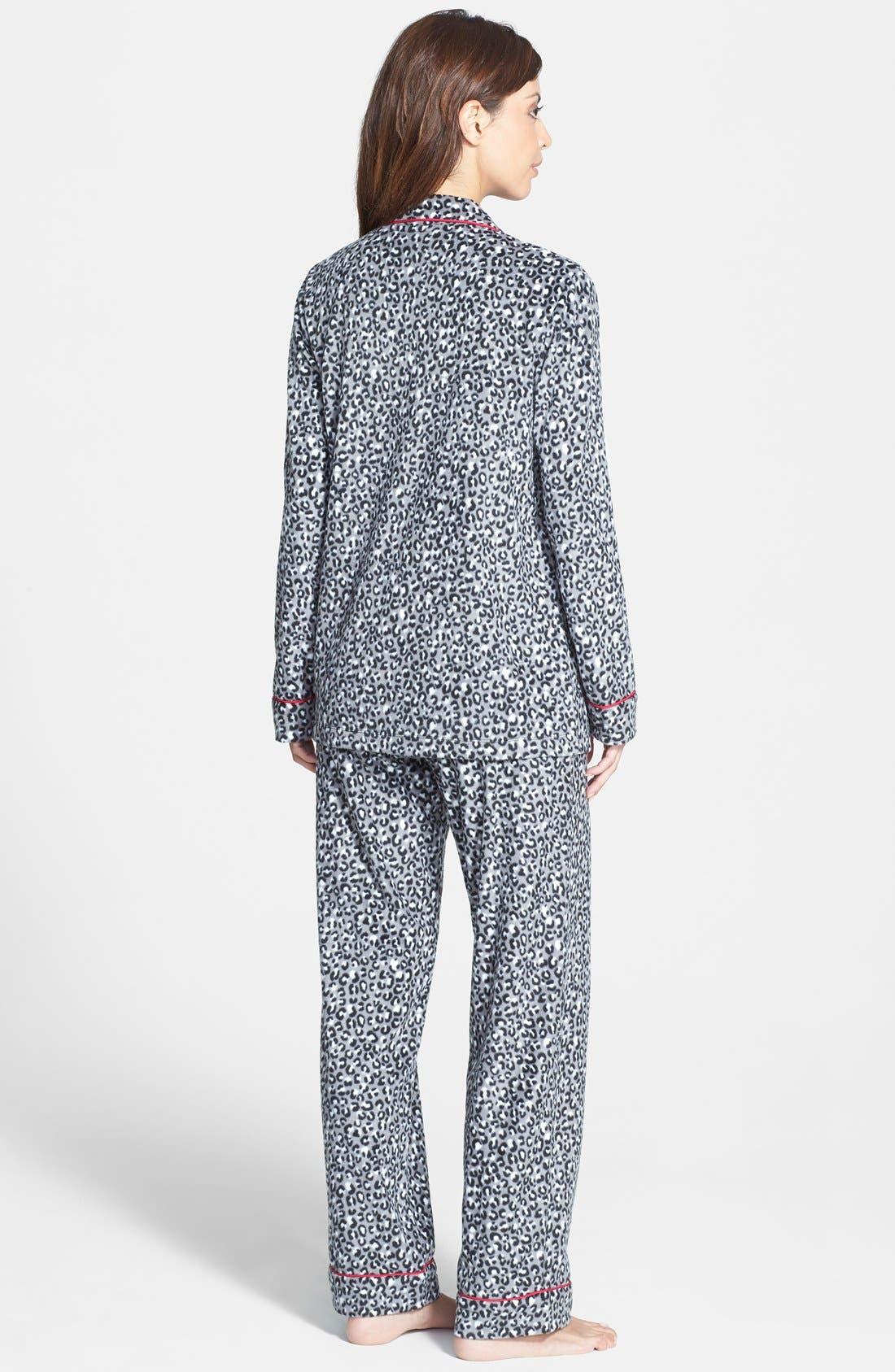 ,                             Long Sleeve Microfleece Pajamas,                             Alternate thumbnail 17, color,                             039