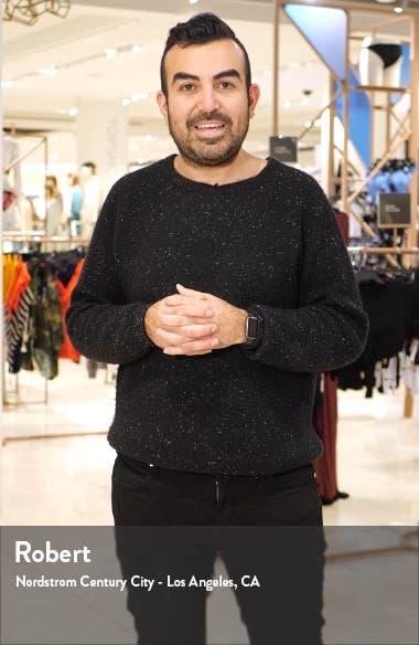 V-Neck Satin Cap Sleeve Gown, sales video thumbnail