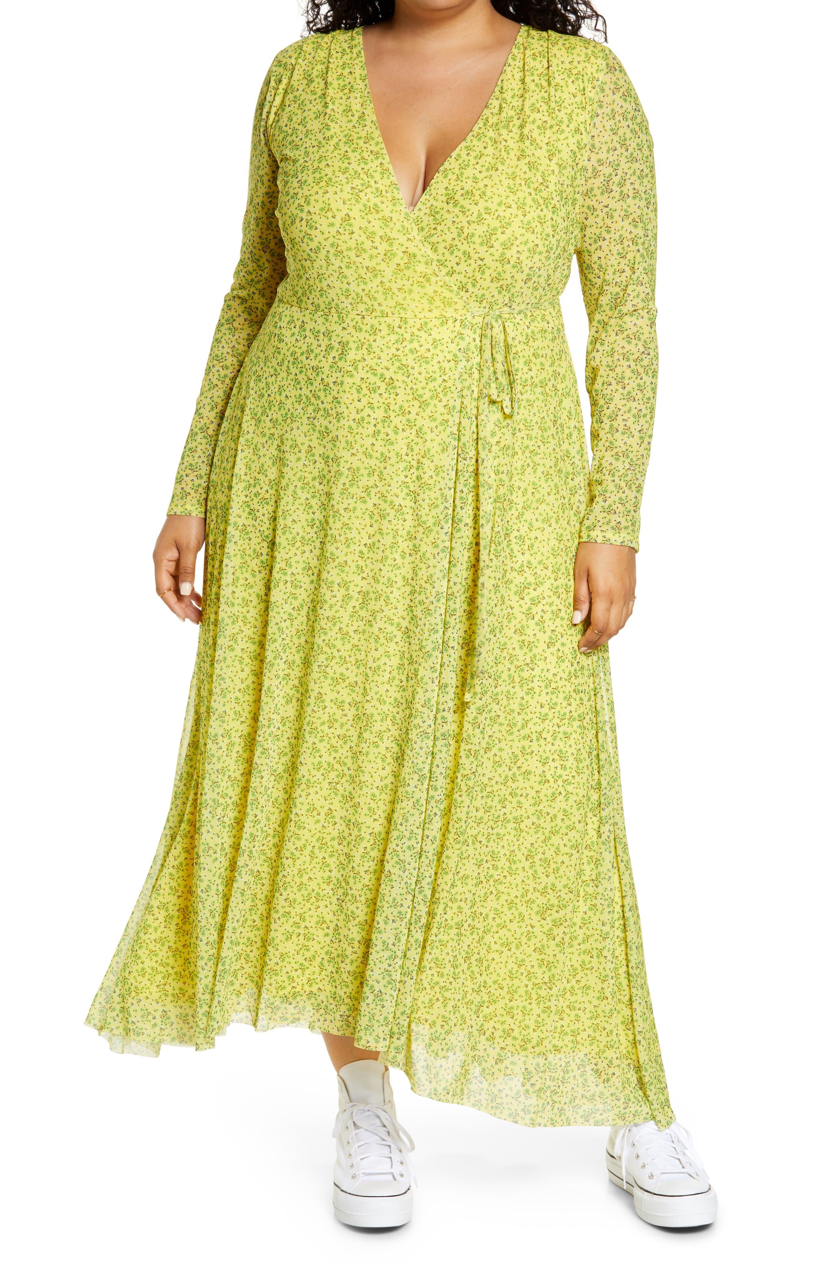 Wyatt Long Sleeve Wrap Dress