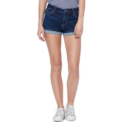 Paige Transcend Vintage - Jimmy Jimmy Cutoff Shorts, Blue