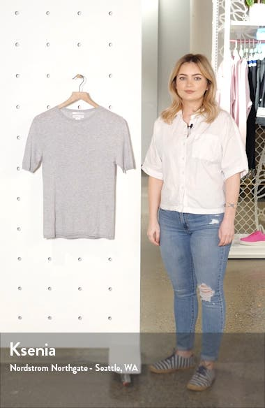 Short Sleeve Cashmere Sweater, sales video thumbnail