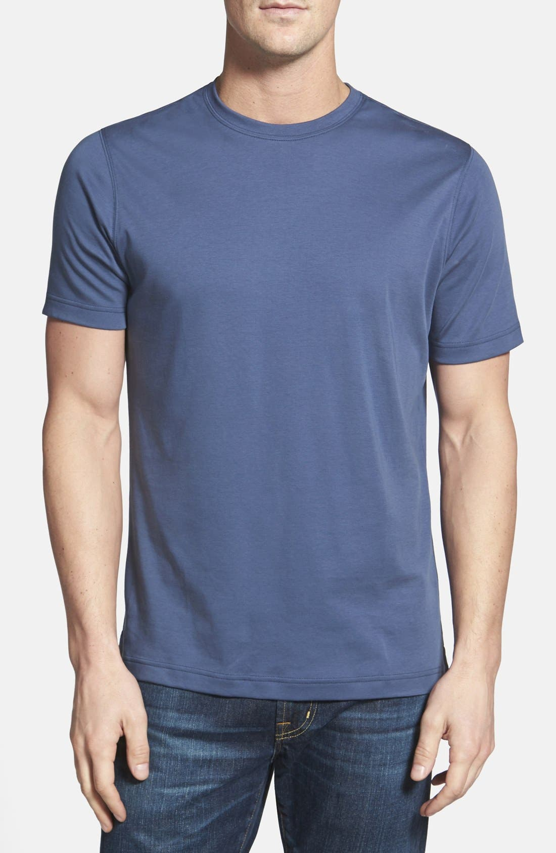 ,                             Georgia Crewneck T-Shirt,                             Main thumbnail 320, color,                             467