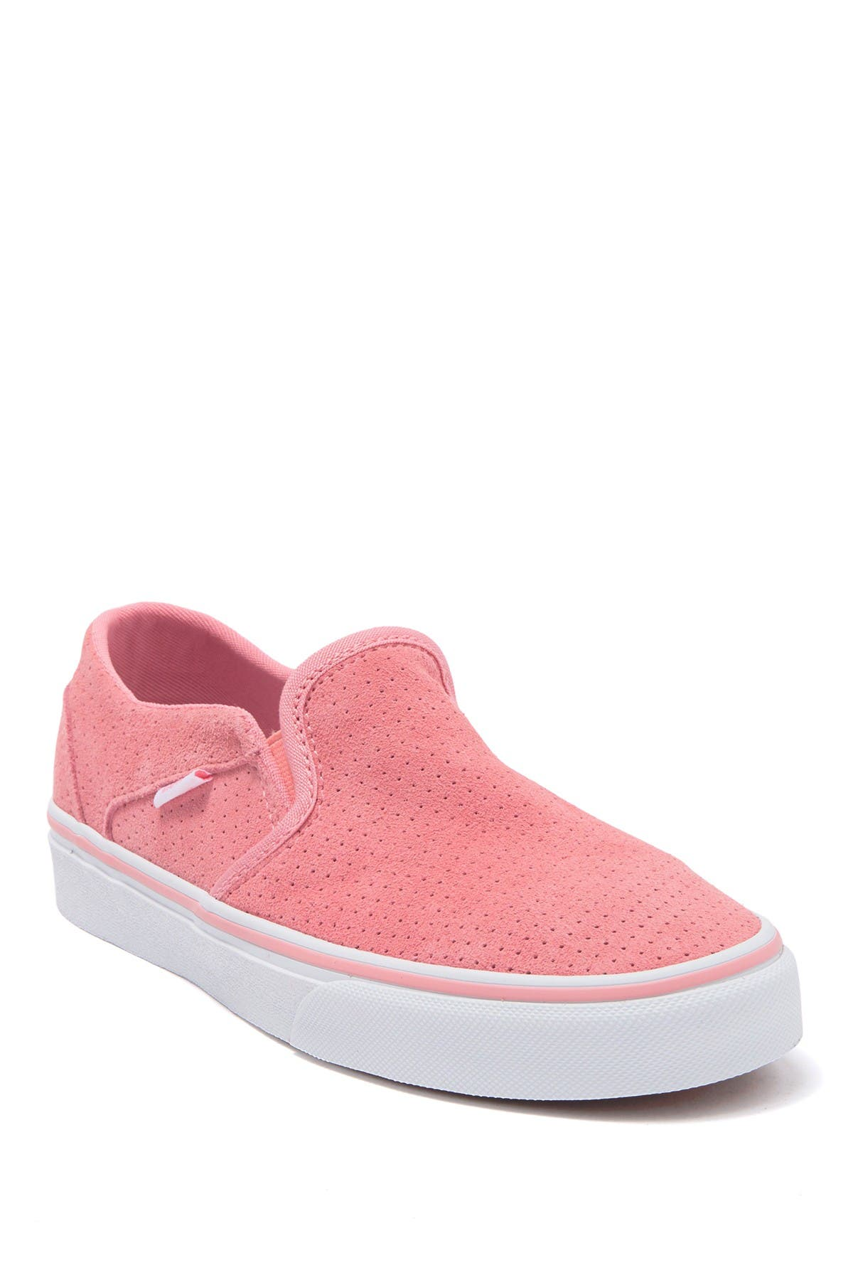 VANS   Asher Perforated Suede Slip-On