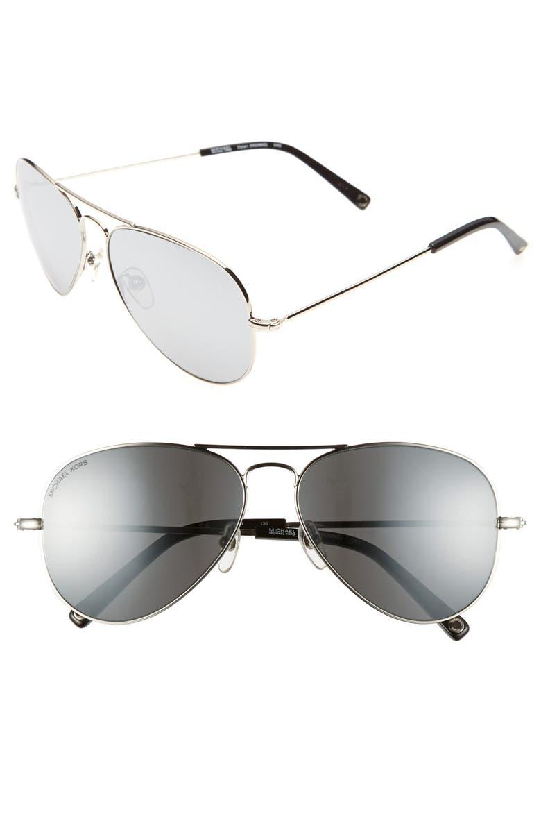61f4e71a87d3 MICHAEL Michael Kors 'Dylan' 58mm Aviator Sunglasses | Nordstrom