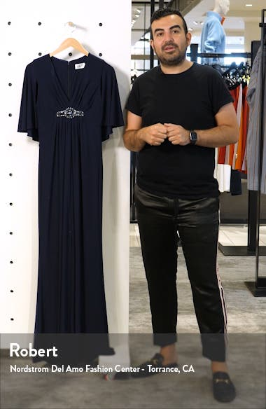 Cape Back Gown, sales video thumbnail