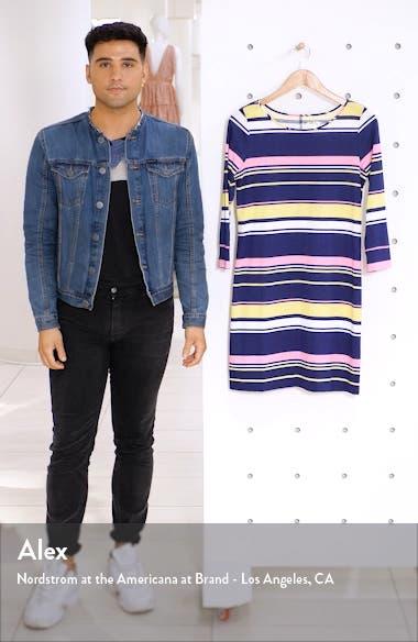 Marlowe Mixed Stripe T-Shirt Dress, sales video thumbnail
