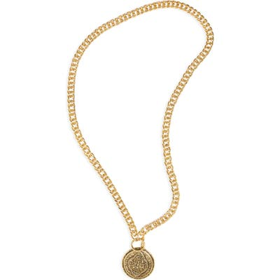 Virgins Saints & Angels Cathedral Coin Necklace