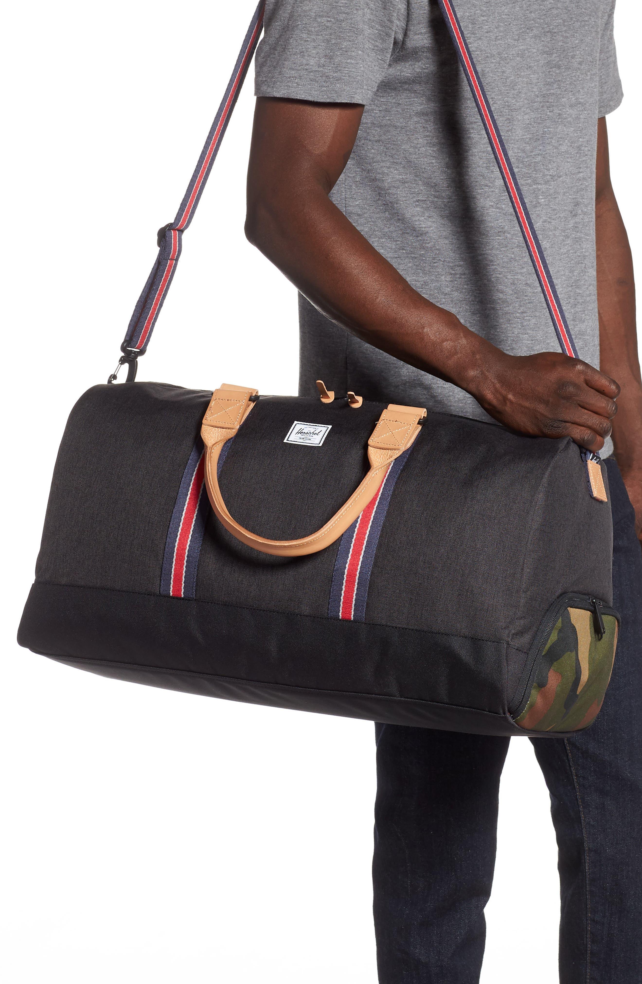 ,                             Novel Duffle Bag,                             Alternate thumbnail 2, color,                             BLACK CAMO OFFSET