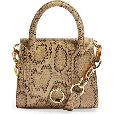 Topshop Marley Mini Handbag - Beige