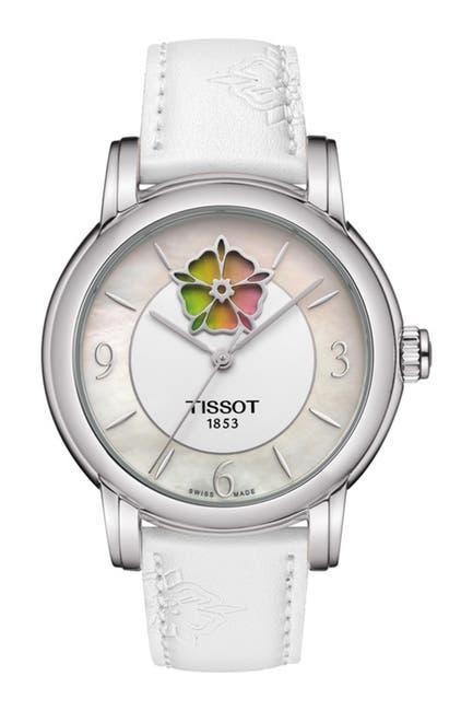 Image of Tissot Women's Tissot Lady Heart Flower Powermatic Watch, 35mm