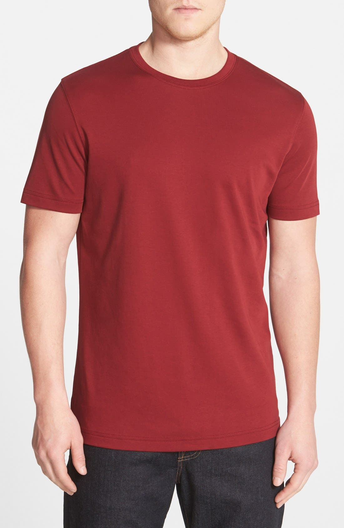 ,                             Georgia Crewneck T-Shirt,                             Main thumbnail 428, color,                             603