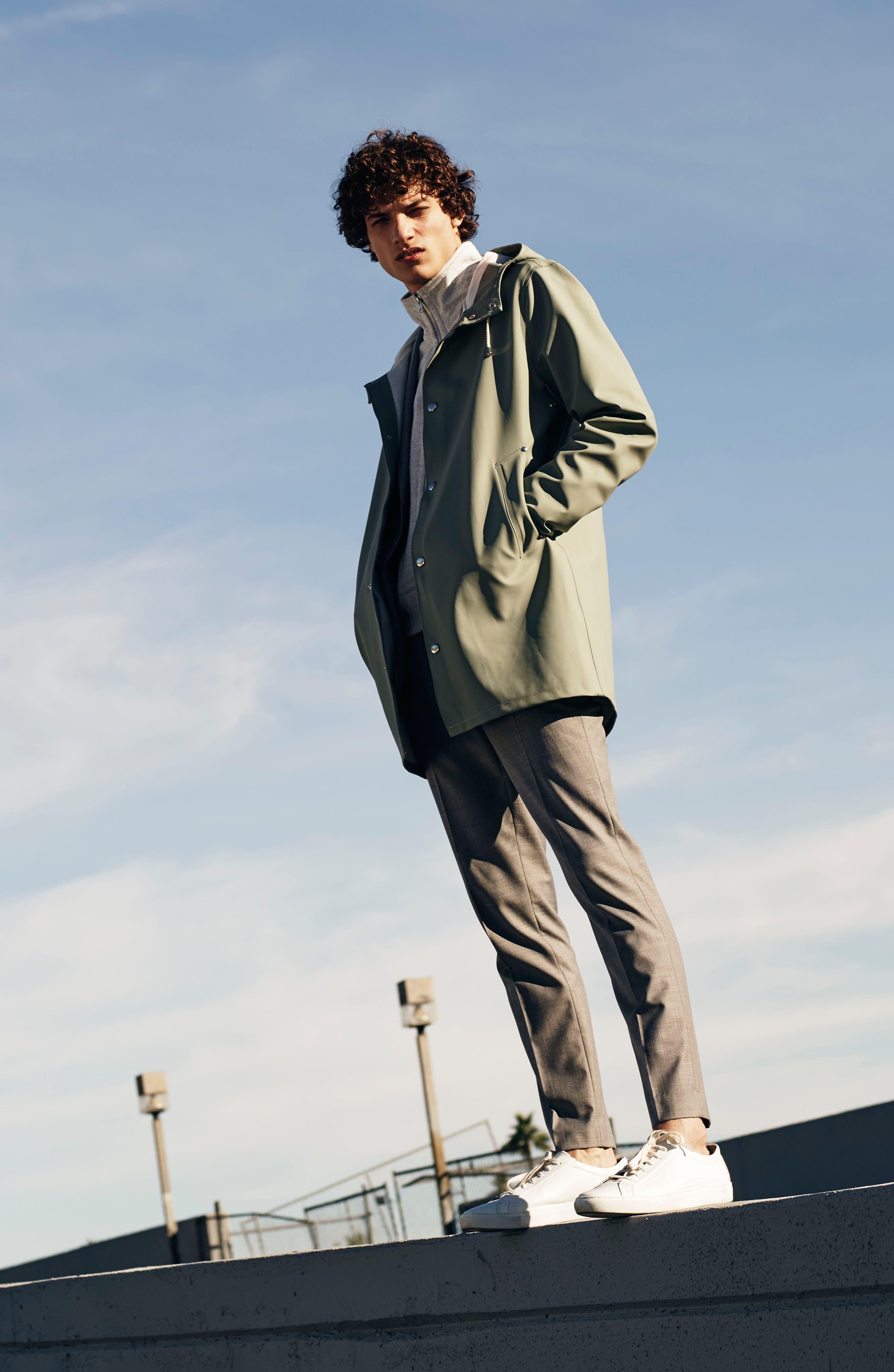 ,                             Como Skinny Fit Grey Suit Pants,                             Alternate thumbnail 8, color,                             GREY
