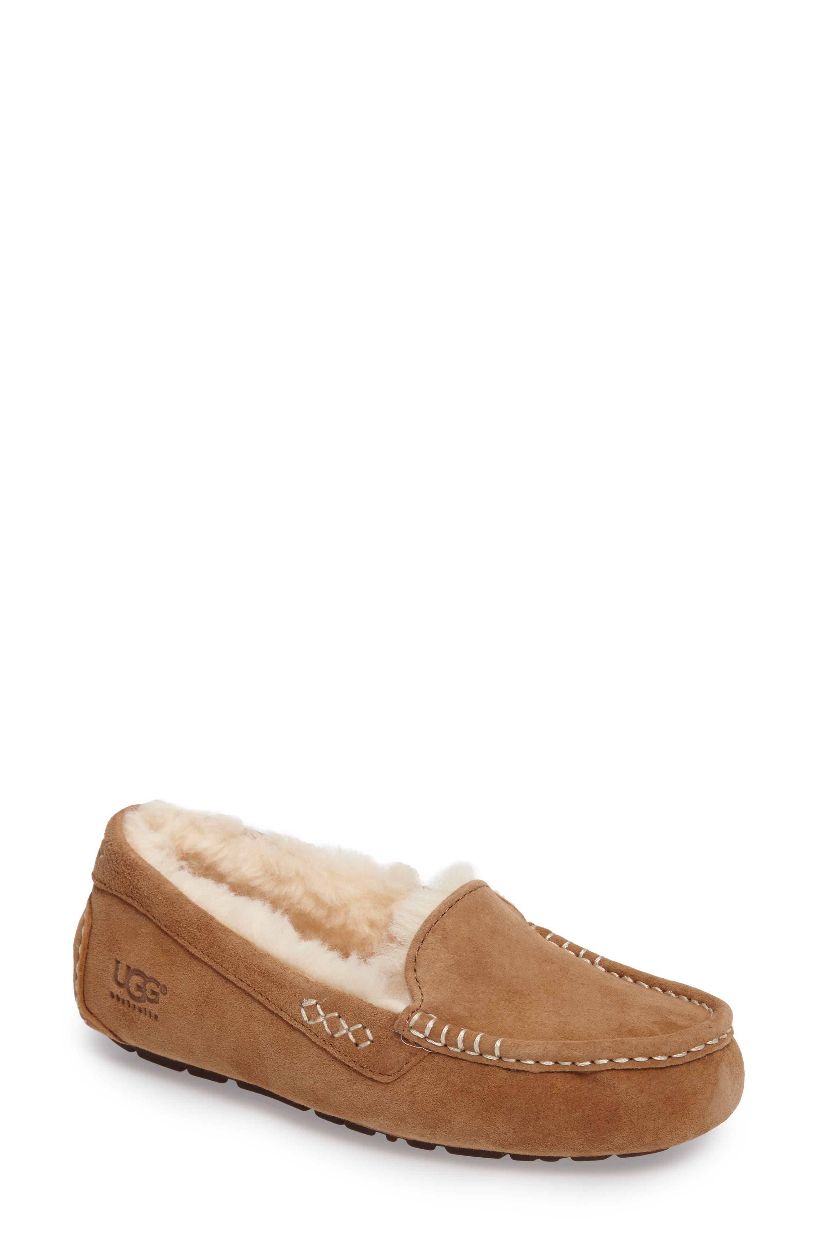 Ugg Ansley Water Resistant Slipper, Brown