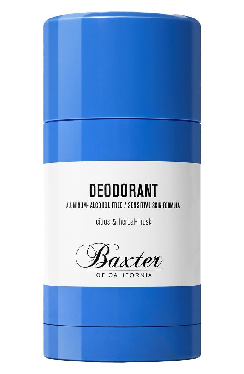 BAXTER OF CALIFORNIA Deodorant, Main, color, NO COLOR